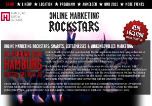 Online Marketing Rockstars in Hamburg