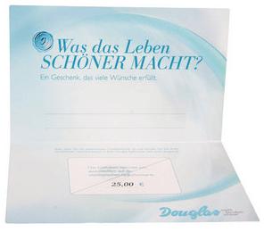 Douglas Gutschein im Gegenwert von 25 EUR
