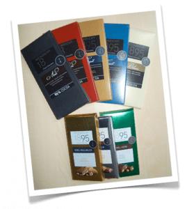 Ausgesuchte hochwertige Schokolade von Weinrich