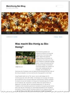 Exportierter Text in WordPress