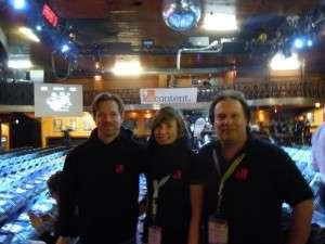 Ralf, Janina und Arne von content.de bei den Online Marketing Rockstars
