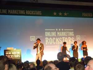 Jan Delay bei den Online Marketing Rockstars