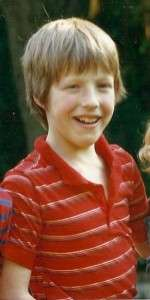 Ein Kinderfoto unseres Autors Lenz