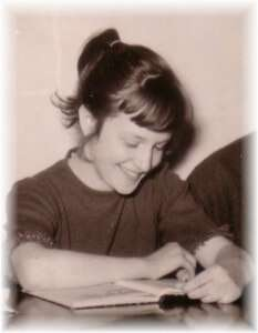 Ein Kinderfoto unserer Autorin escritora_catalana