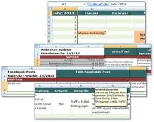 Redaktionsplan für Website Content