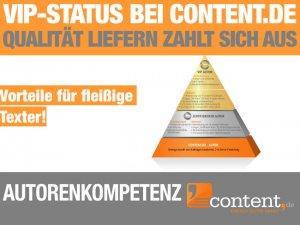 VIP-Status bei content.de