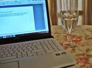 Arbeitsplatz der content.de-Autorin Dalal