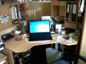Schreibtisch-Foto