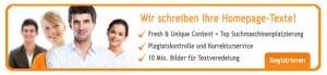 content.de schreibt Ihre Homepage Texte
