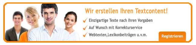 Textcontent über content.de einkaufen.