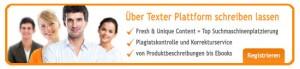 Über Textagentur content.de Texte schreiben lassen.