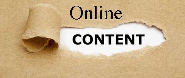 Online Redakteure sorgen für Online Content