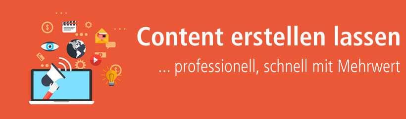 Unique Content von content.de erstellen lassen