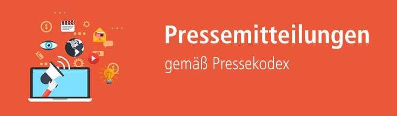 Pressemitteilung nach dem Pressekodex schreiben lassen.