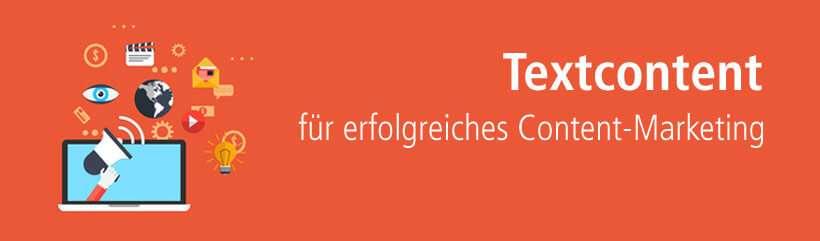 Erfolgreiches Content-Marketing mit Textcontent von content.de