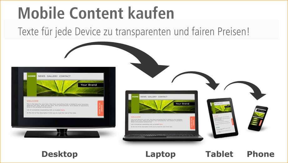 Responsive Content für ein responsives Design