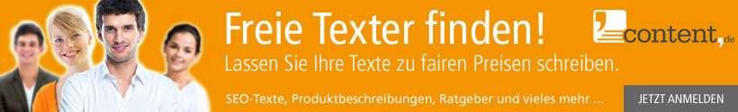 Freie Texter jetzt finden und unkompliziert beauftragen!