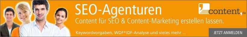 Content für SEO-Agenturen kaufen bei content.de