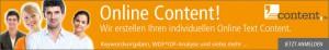 Online Content erstellen lassen
