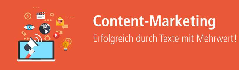 Content-Marketing mit performanten Texten von content.de