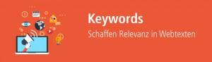 Keywords in Webtexten