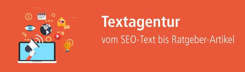 Textagentur für Webtexte, Content-Marketing, Ebooks und vieles mehr!