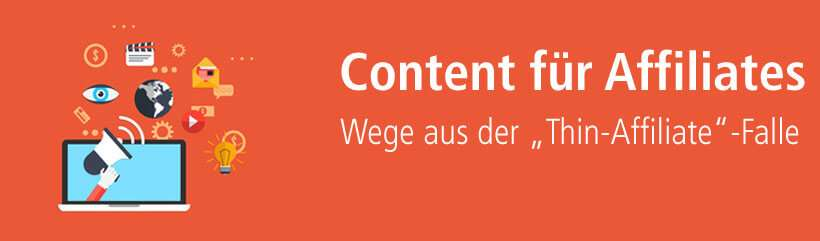 Unique Content für performancestarke Affiliate-Websites