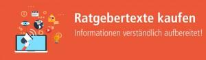 Ratgebertexte erstellen lassen über content.de