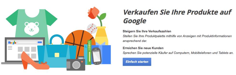 Screenshot Google-Shopping