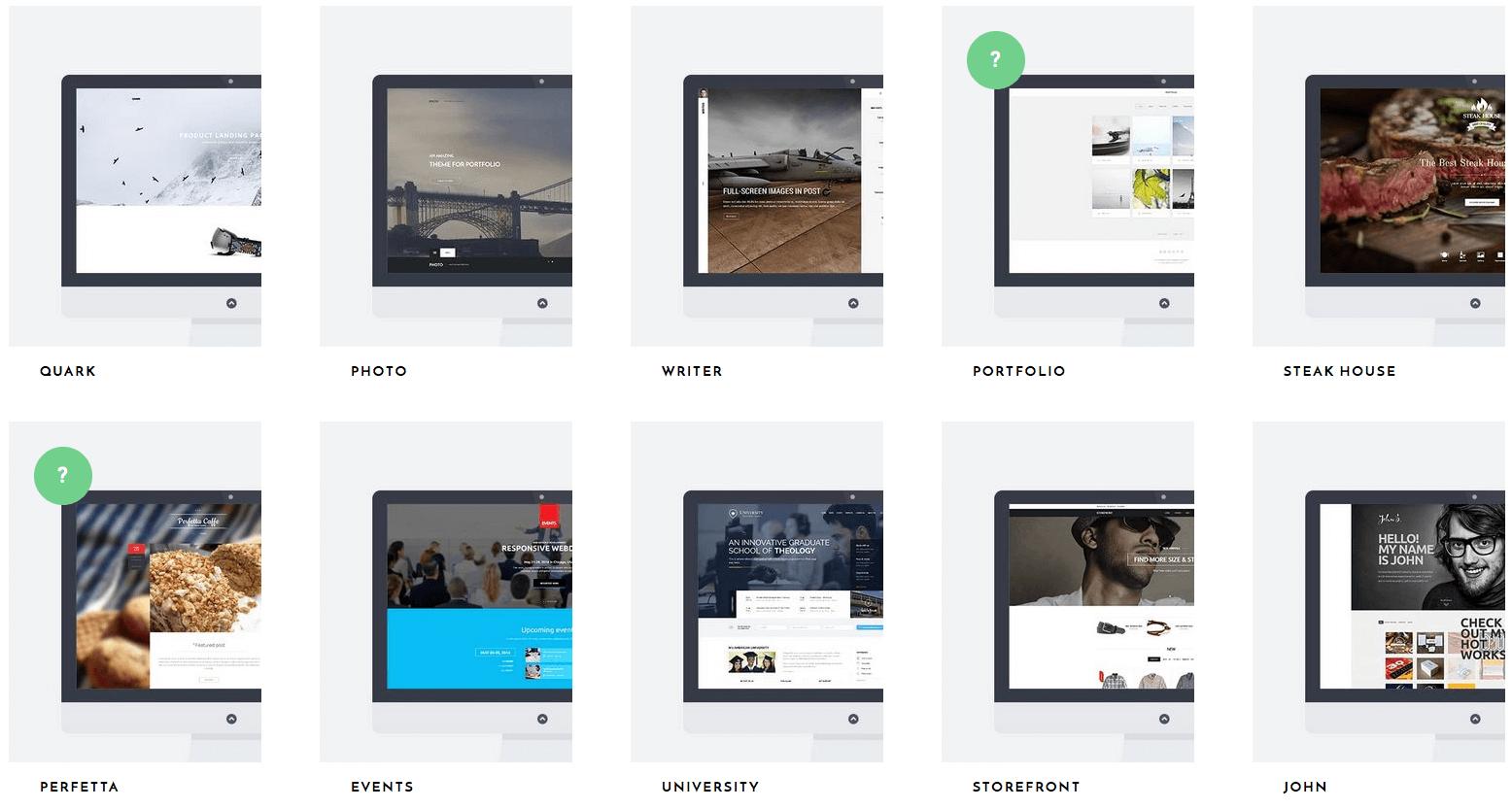Wordpress- und Joomla-Themes