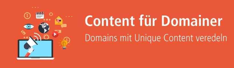 Content für Domainer