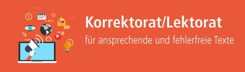 Lektorat und Korrektorat von content.de