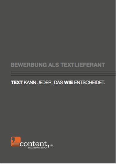 content.de als Textlieferant