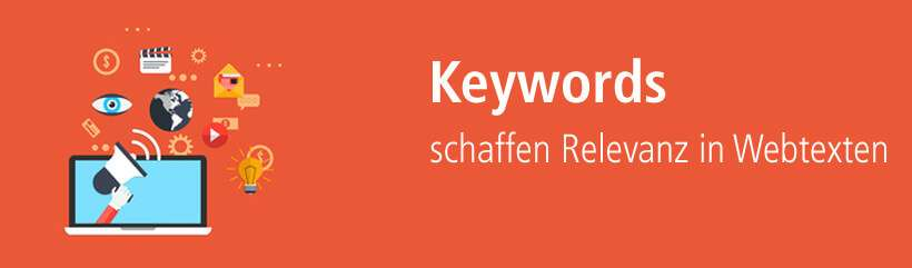 Keywords in Webtexten einsetzen