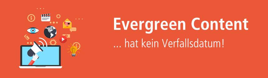 Evergreen Content bei content.de schreiben lassen!