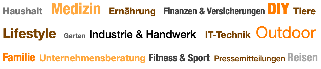 Expertenthemen auf content.de