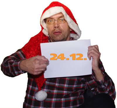 content.de-Texter präsentieren die Geschenke der Weihnachtsaktion.