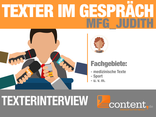 Interview mit Texterin MFG_Judith von content.de