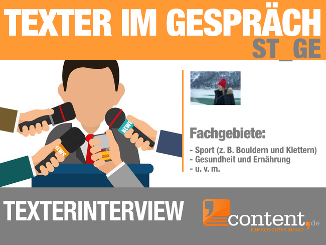 Texterinterview mit Texterin St_Ge von content.de